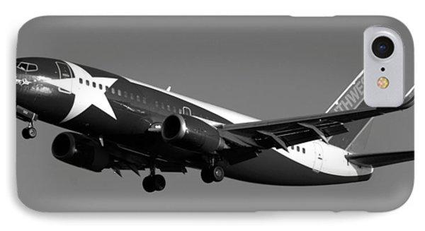 Lone Star Southwest Plane Phone Case by Daniel Woodrum