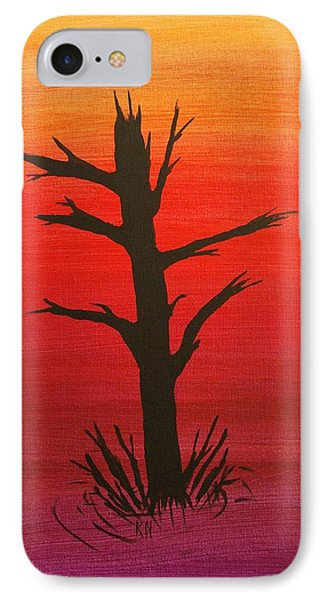 Lone Tree Phone Case by Keith Nichols