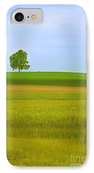 Lone Tree IPhone Case by Rima Biswas
