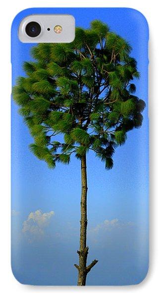 Lone Tree Phone Case by Salman Ravish