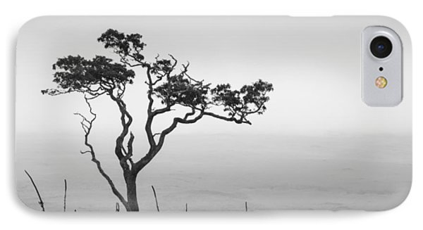 Lone Tree IPhone Case by Takeshi Okada