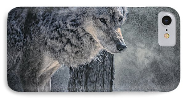 IPhone Case featuring the photograph Lone Wolf by Brian Tarr