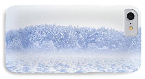 Loneliness In Winter Phone Case by Patrick Kessler