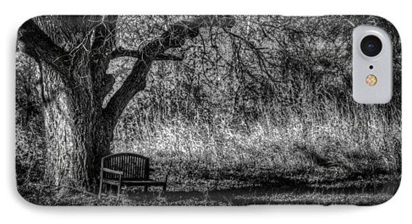 Lonely Bench IPhone Case by Ross Henton