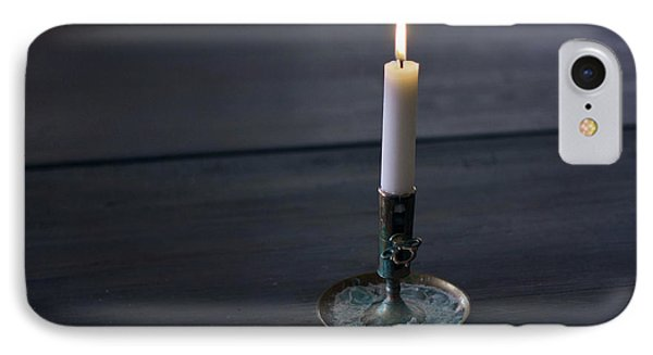 Lonely Candle IPhone Case