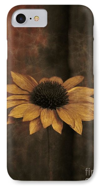 IPhone Case featuring the photograph Lonely Coneflower by Marjorie Imbeau