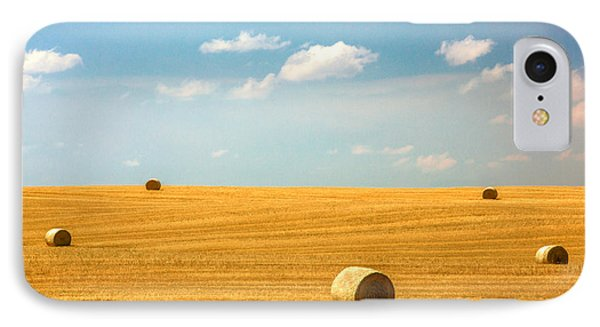 Lonely Fields IPhone Case by Todd Klassy