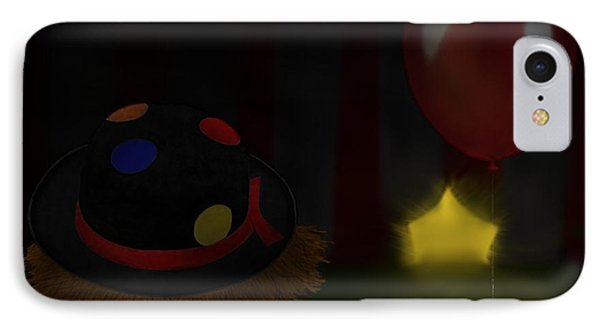 IPhone Case featuring the digital art Lonely Laughter by Andy Heavens