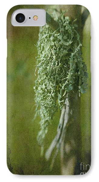 Lonely Lichen Phone Case by Judi Bagwell