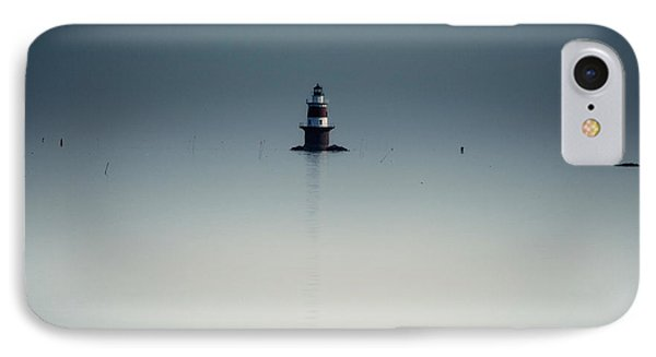 Lonely Lighthouse  Phone Case by Karol Livote
