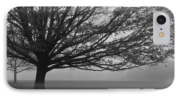 IPhone Case featuring the photograph Lonely Low Tree by Maj Seda