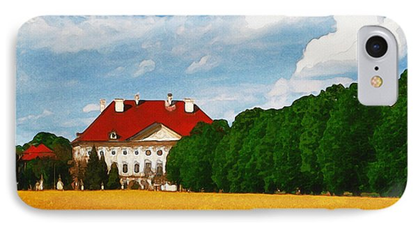 Lonely Mansion IPhone Case by Ayse Deniz