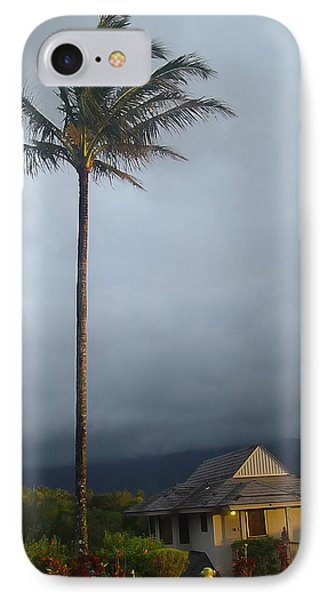 Lonely Palm IPhone Case by John Bushnell