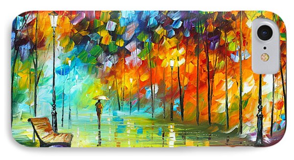 Lonely Stroll 3 Phone Case by Leonid Afremov