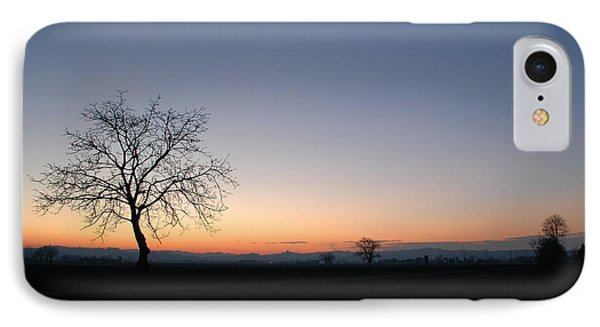 Lonely Tree IPhone Case by Guido Strambio