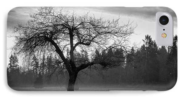 Lonely Tree IPhone Case by Ron Roberts