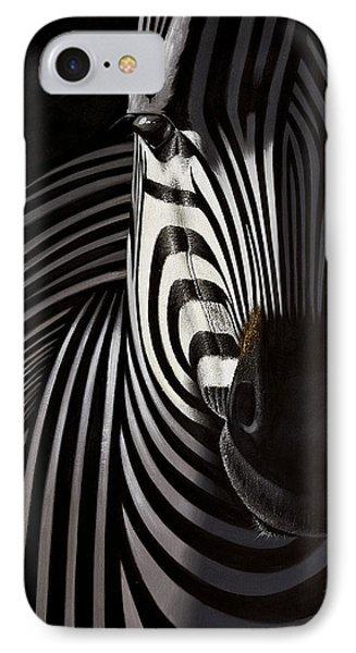 Lonely   Zebra IPhone Case