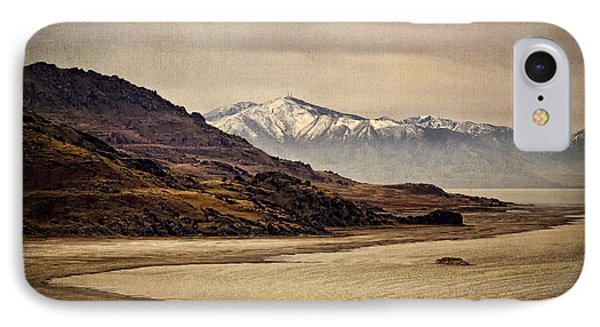 IPhone Case featuring the photograph Lonesome Land by Priscilla Burgers