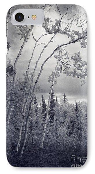 Lonesome Woods IPhone Case by Priska Wettstein