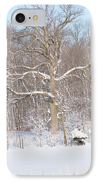 IPhone Case featuring the photograph Loney Ash by Dacia Doroff