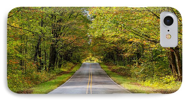 Long And Winding Road   2 IPhone Case by Rachel Cohen