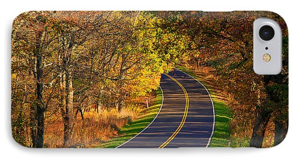 Long And Winding Road IPhone Case