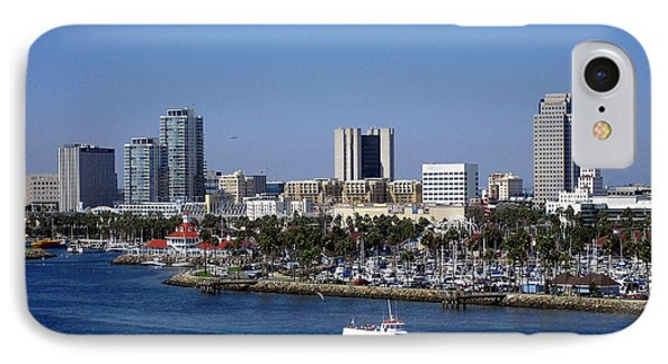 Long Beach Phone Case by Athala Carole Bruckner