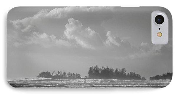 Long Beach Landscape  IPhone Case by Roxy Hurtubise