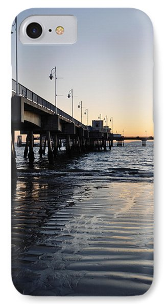 IPhone Case featuring the photograph Long Beach Pier by Kyle Hanson