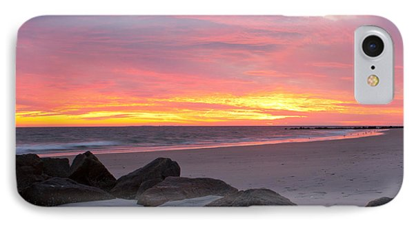 Long Beach Sunset IPhone Case