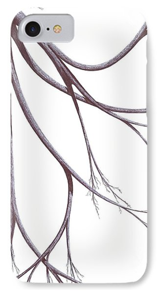 Long Branches IPhone Case by Giuseppe Epifani