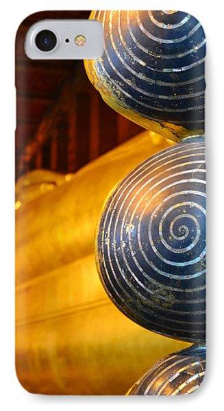 Long Buddha Statue Phone Case by Chaichana Pratomwong