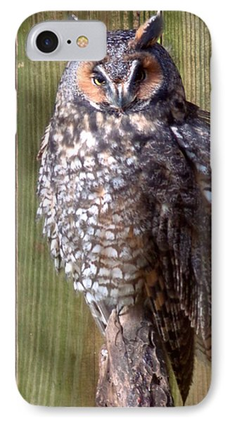 IPhone Case featuring the photograph Long Eared Owl by Joseph Skompski