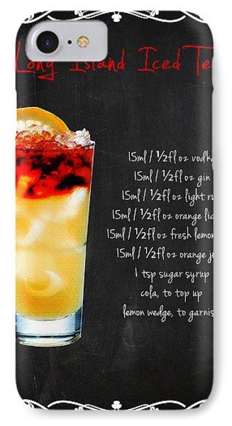 Long Island Iced Tea IPhone Case by Mark Rogan