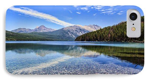 Long Knife Peak At Kintla Lake Phone Case by Scotts Scapes