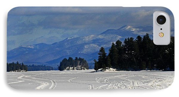 Long Lake Phone Case by Heather Allen