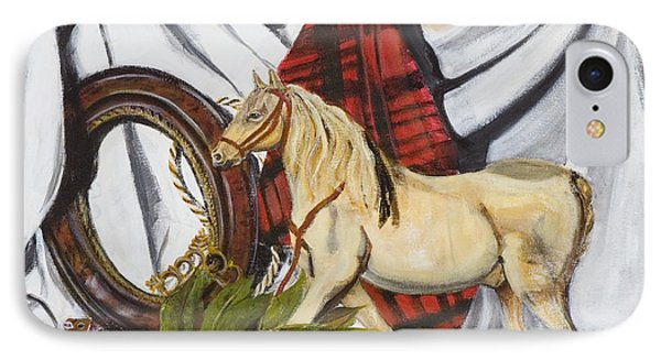 IPhone Case featuring the painting Long May He Ride by Susan Culver