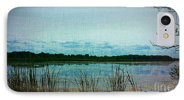 Long Pond IPhone Case by Judy Via-Wolff