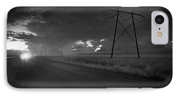 IPhone Case featuring the photograph Long Road Home by Bradley R Youngberg