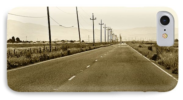 Long Road Home Phone Case by Artist and Photographer Laura Wrede