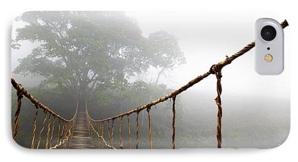 Long Rope Bridge Phone Case by Skip Nall