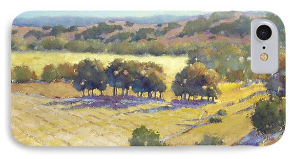 Long Shadows At Los Olivos IPhone Case by Joyce Hicks