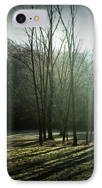 IPhone Case featuring the photograph Long Shadows by Cynthia Lassiter
