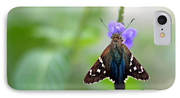Long Tailed Skipper Phone Case by Laura Fasulo