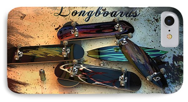 Longboards IPhone Case