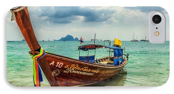 Longboat Asia IPhone Case by Adrian Evans