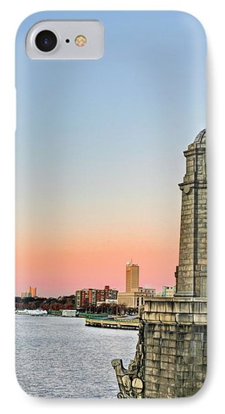 Longfellow Bridge Tower Phone Case by JC Findley