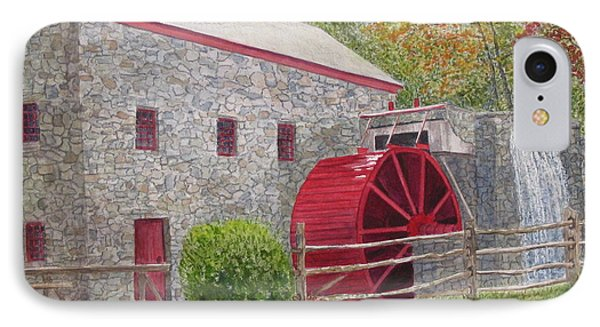 Longfellow's Gristmill IPhone Case