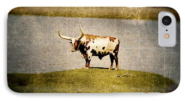 Longhorn Phone Case by Scott Pellegrin