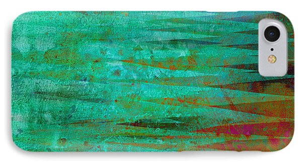 Longing - Abstract - Art Phone Case by Ann Powell